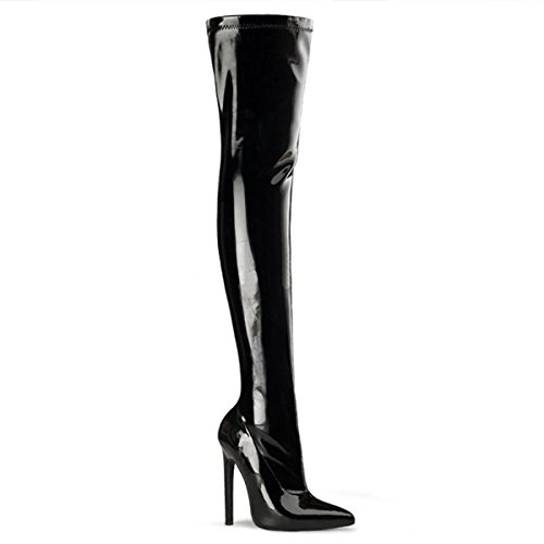 Heels-Perfect - Cerrado de material sintético mujer negro - negro