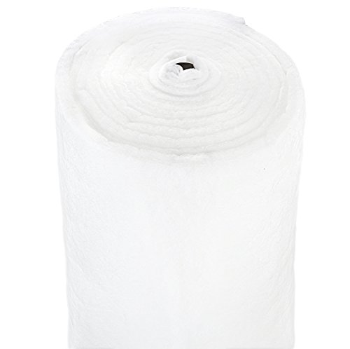 Durable Polyester Quilt Batting – Fluffy and Warm – Thick and Lightweight - 60 inches Wide - Machine Washable - For Indoor and Outdoor Use - Large Variety of Yard Cut Sizes (20 yards) by Bonnybundle