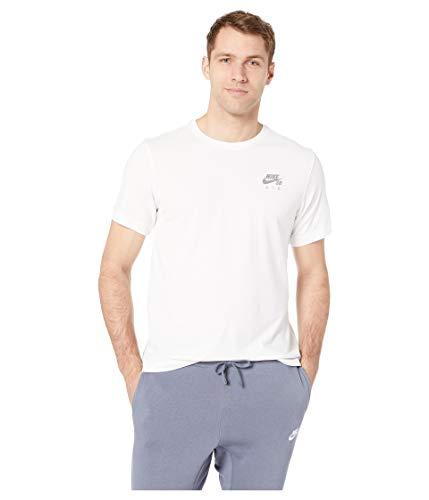 Nike SB Dri-FIT Air Men's Skate T-Shirt - AO0382 (White/Flat Pewter, Medium)