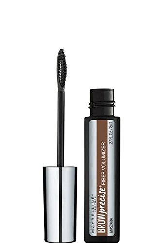 Maybelline New York Brow Precise Fiber Volumizer, Soft Brown, 0.27 Fluid Ounce