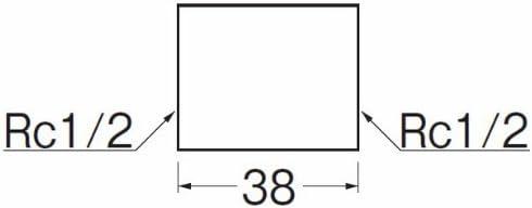 SANEI 【ステンレスソケット】 ネジサイズRc3/4 TS740-20