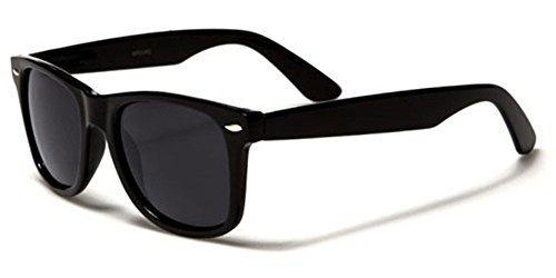 es Classic 80's Vintage Style Design (Black Matte) (Vintage Style Sunglasses)