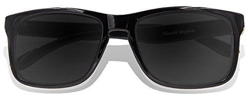 Full Black Lens de Lunettes KZ Frame adulte Revo Black Glossy soleil HF700Cqw