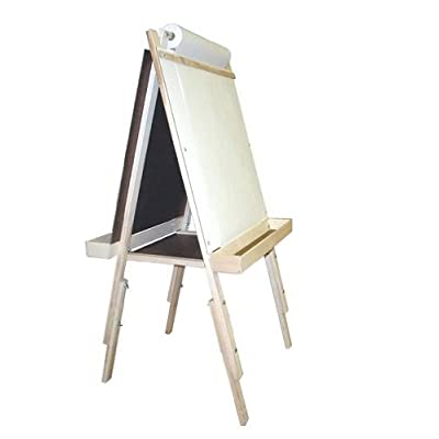Beka 01018 Adjustable Easel chalkboard marker board wood trays cutter: Toys & Games