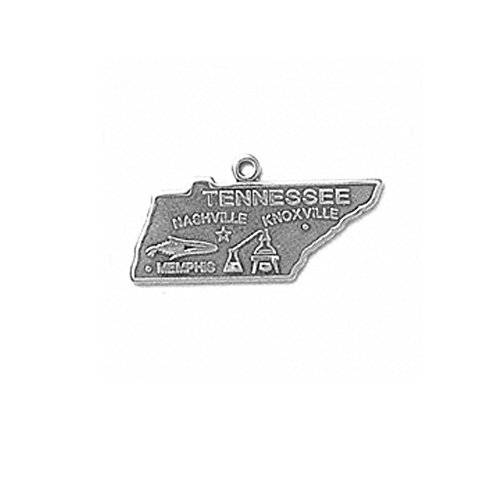 Sterling Silver Tennessee State Charm Item #641 ()