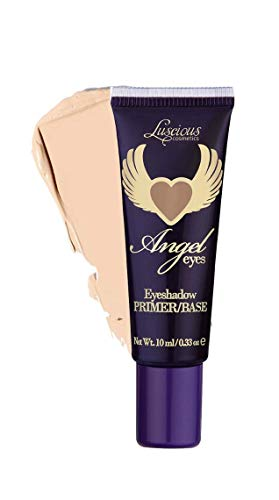 Angel Eyes Eyeshadow Primer by Luscious Cosmetics | Eye Primer & Concealer Primer | Vegan and Cruelty Free | 0.33 fl oz / 10ml