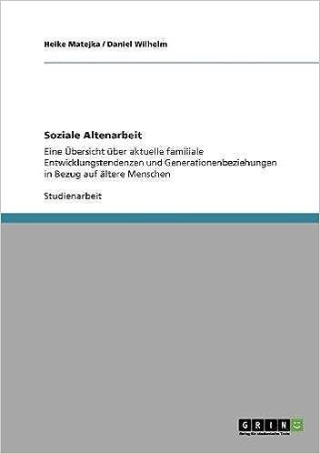 Book Soziale Altenarbeit