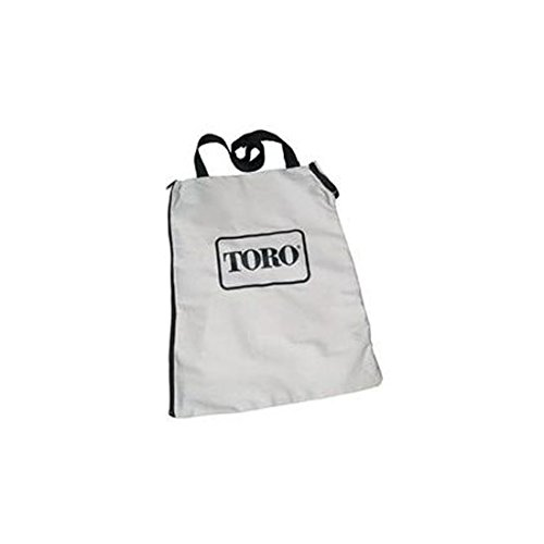 Toro 127-7040 Zippered Bottom Dump Bag for Ultra Blower Rake & Vacuum Leaf Blowers 51599, 51602, 51609, 51574, 51592 (Ultra Leaf)