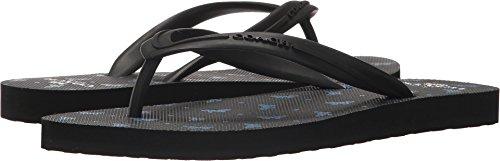 Coach Women's Cleo Flip-Flop Black Lapis 8 M US