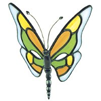 Free Lead Figure Cast - Lead-free Butterfly Body Casting - Stained Glass Supplies