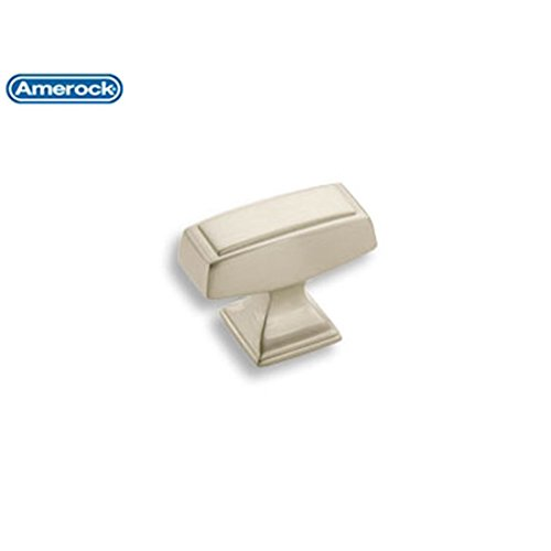 Amerock BP53534 2 G10 1-1/2 Knob Mulholland Satin Nickel by Amerock Amerock Mulholland Cabinet Knob