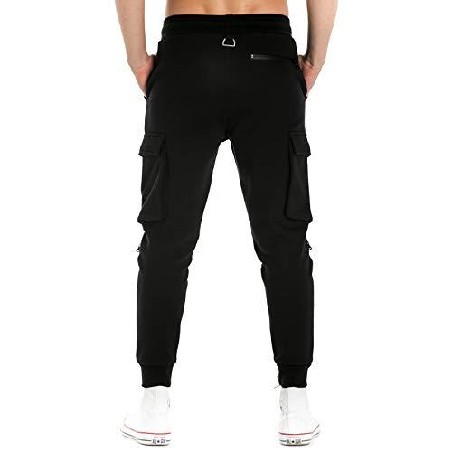 Noir Pop Homme Extreme De Pantalon Sport AXCXnw6fq