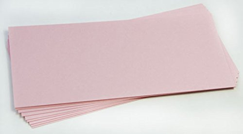 Slim Stardream Rose Quartz Blank Cards - Flat, 105lb Cover, 25 Pack