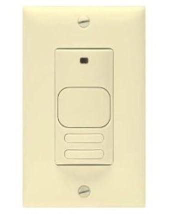 Hubbell edificio automatización lhirsd2-g-iv Digital doble circuito Detector de movimiento de infrarrojos con manual, marfil: Amazon.es: Industria, ...