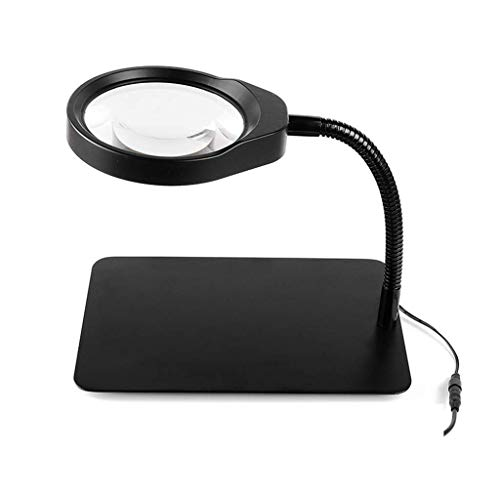 Vision Assist Head Mounted Magnifying Glass, Reading and Watching TV Welding LED Magnifier (Color : Parent) Auxiliary Supplies (Color : Parent)