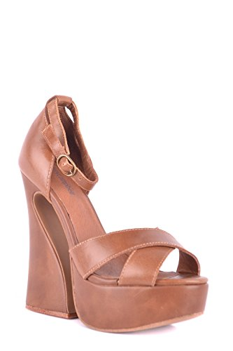 Sandals MCBI163048O Brown Campbell Leather Jeffrey Women's aHU86nO
