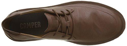 Camper Morrys, Scarpe Stringate Oxford Uomo Marrone (Medium Brown 210)