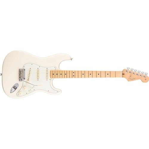Stratocaster Fender Blue (Fender American Professional Stratocaster - Olympic White with Maple Fingerboard)