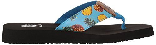 Yellow Box Women's Pina Colada Sandal Blue 3aFmtYPT