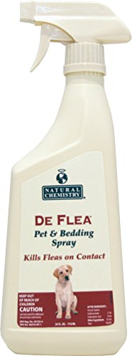 De Flea Pet & Bedding Spray for Dogs. 24oz (Not for use on Cats) (Deflea Shampoo)