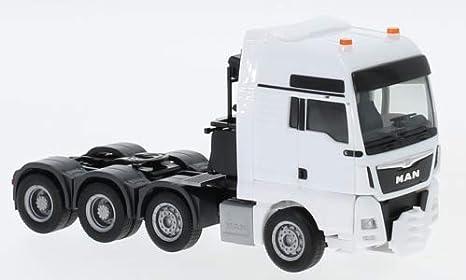 Amazon com: MAN TGX XXL 840 Euro 6, White, 0, Model Car,, Herpa 1:87
