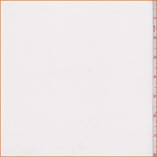 - Ivory Brushed Fine Line Twill, Fabric by The Yard