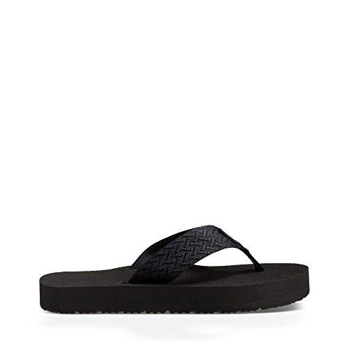 オートメーション罹患率オレンジTeva Womens Original Mushフリップフロップサンダル靴