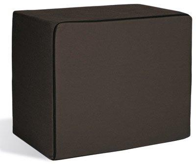 Aktivshop Bandscheibenwürfel, Schaumstoff, schwarz, 40 x 50 x 60 cm