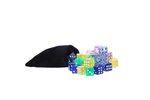 Traditional Dice Set - Game - 50 Piece