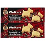 Walkers Scottie Dog Shortbread, 3.9 oz, 2 pk