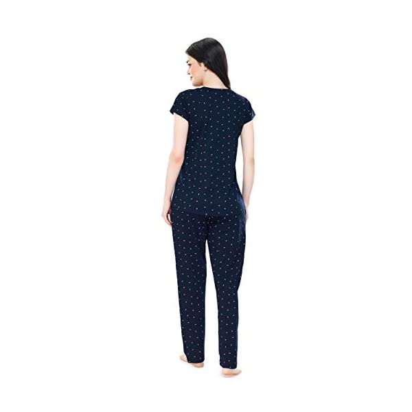 ZEYO Cotton Night Dress For Feeding Mothers Online India