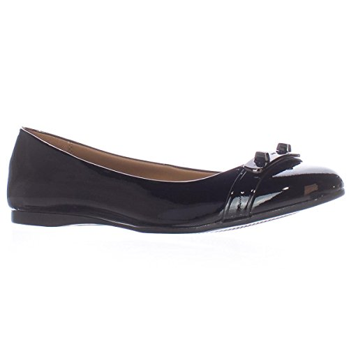 Entrenador Oswald Mujeres Flats & Oxfords Black / Black Patent / Patent