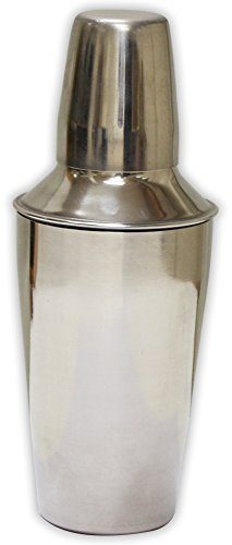 9 Inch X 3-1/2 Inch Diamter Stainless Steel Cocktail Shaker