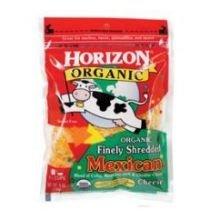 Horizon Organic Mexican Shredded Cheese, 6 Ounce -- 12 per case.