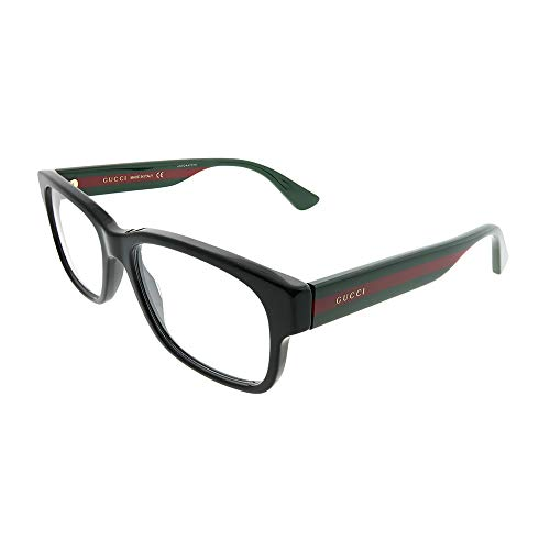 Gucci GG0343O Eyeglasses 007 Black/Multicolor 57 mm