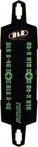 『2年保証』 Black Leather Deck Racing Board Speed 10x40 Board X-40 Longboard Deck - 10x40 [並行輸入品] B06XFWR7G1, 保育モール:850ba286 --- a0267596.xsph.ru