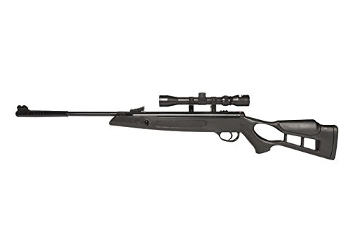 (Hatsan Edge Air Rifle, Vortex Piston, Black air rifle)