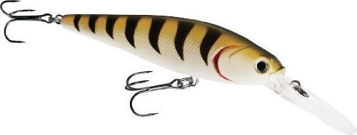 Dynamic Lures Travado DP Shallow Diving Fishing Lure | 4.00 Inch 5/8 Oz | Long Lipped Trolling Lure | (2) - Size 10 Treble Hooks | for Fishing Bass, Trout, Walleye, Carp | Count 1 |
