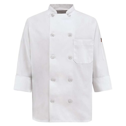 Chef Designs Women's Chef Coat, White, X-Large