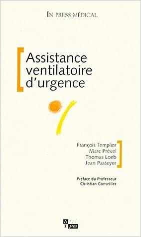 Livre Assistance ventilatoire d'urgence epub, pdf