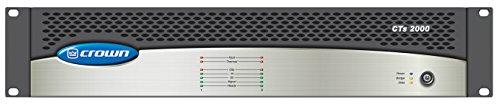 Crown CTs 2000 Two-channel Power Amplifier (1000W per channel @ 8 Ohms) by Crown