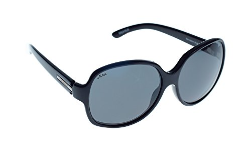 Waveborn Sunglasses Monica Sunglasses, Bold Black for sale  Delivered anywhere in USA