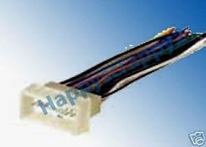 car stereo wiring harness for kia rio car stereo wiring harness adapters amazon.com: stereo wire harness kia rio rio 5 06 2006 (car ... #14