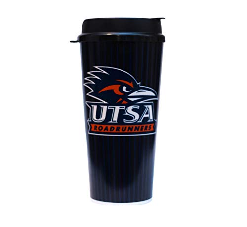 UTSA Roadrunners 24 oz Tumbler Mug with Lid by Whirley Drink Works Perfect for Travel and Sports Events On The Go