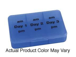 Weekend Pill Pack - Three Day Organizer - Pack Pill