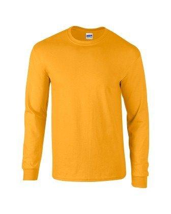 Longues Doré Gildan T Adulte shirt Ultra À Manches Cottontm Pw08P