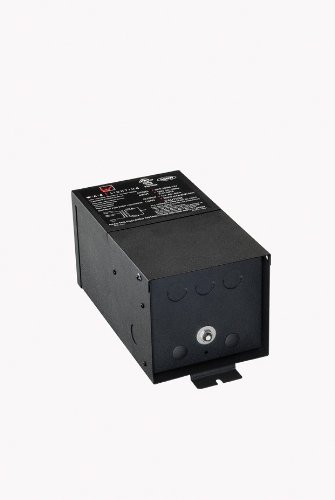 WAC Lighting SRT500M12V Remote Magnetic Transformer 500W, 500W Output 12V with Boost Tap