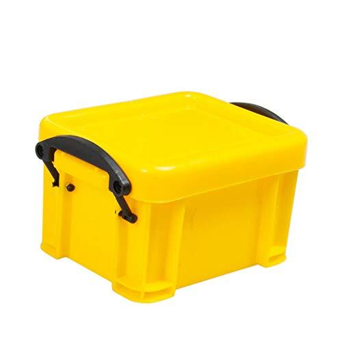 Gbell 1/10 RC Car Accessories Mini Universal Plastic Storage Box Tool for 1:10 Scale RC Rock Crawler Accessory ()
