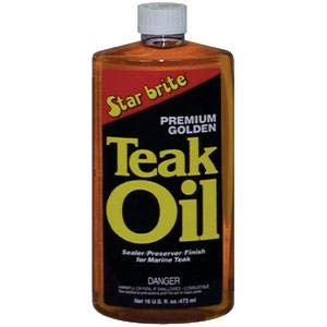 Star Brite 85132 PREMIUM GOLDEN TEAK OIL/PREMIUM GOLDEN TEAK O -