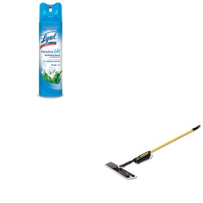 KITRAC76938EARCP3486108 - Value Kit - Light Commercial Spray Mop, 18quot; Frame, 52quot; Steel Handle (RCP3486108) and Neutra Air Fresh Scent (RAC76938EA)